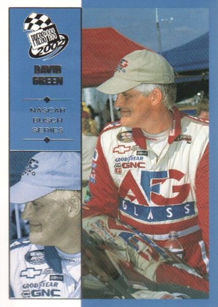 2002 Press Pass #39 David Green NBS