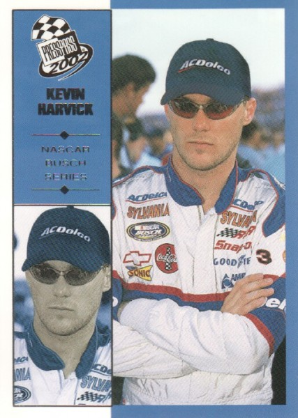 2002 Press Pass #43 Kevin Harvick NBS