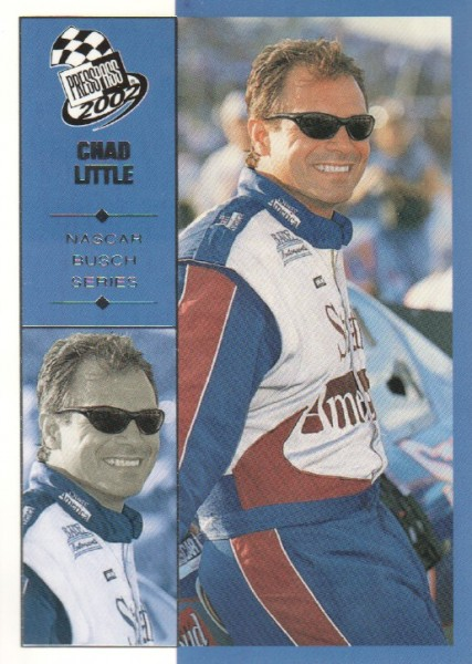 2002 Press Pass #47 Chad Little NBS