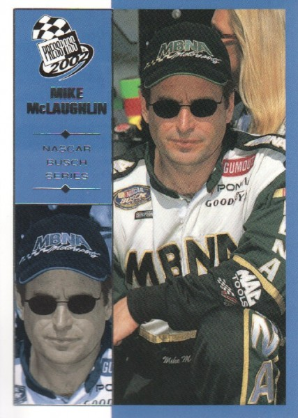 2002 Press Pass #48 Mike McLaughlin NBS