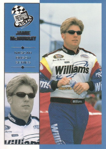 2002 Press Pass #49 Jamie McMurray NBS RC