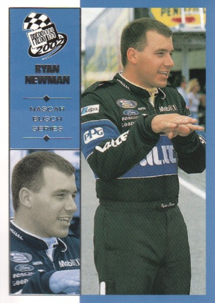 2002 Press Pass #50 Ryan Newman NBS