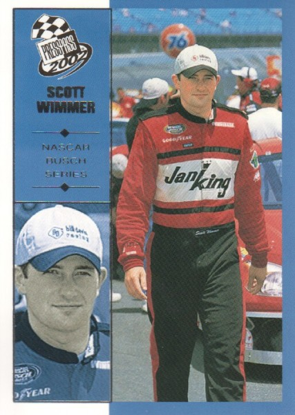 2002 Press Pass #54 Scott Wimmer NBS RC