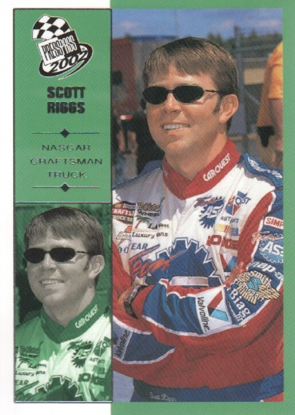 2002 Press Pass #55 Scott Riggs CTS RC