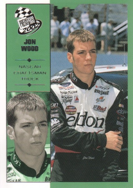 2002 Press Pass #57 Jon Wood CTS RC