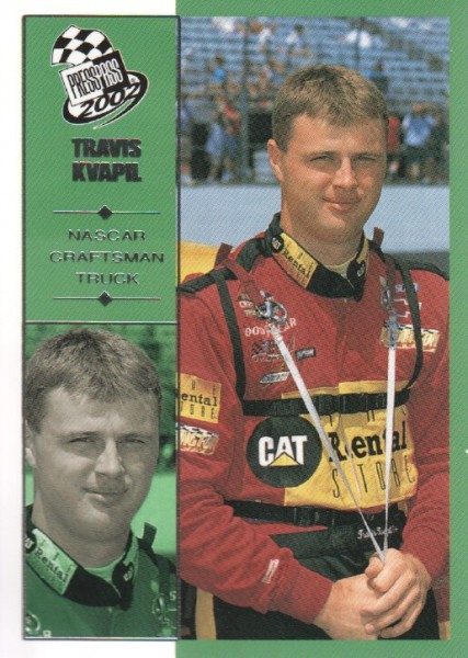2002 Press Pass #59 Travis Kvapil CTS RC