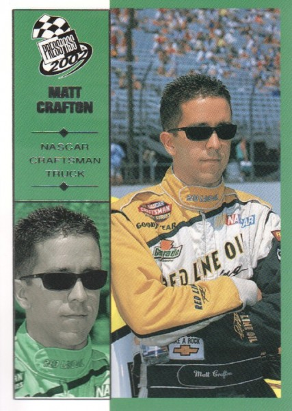 2002 Press Pass #61 Matt Crafton CTS