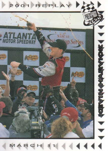 2002 Press Pass #65 Kevin Harvick REP