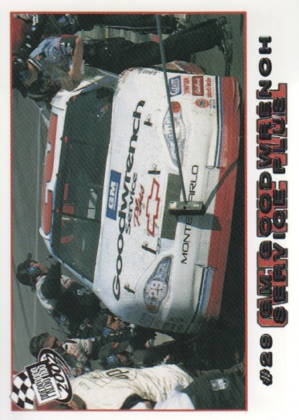 2002 Press Pass #85 Kevin Harvick's Car