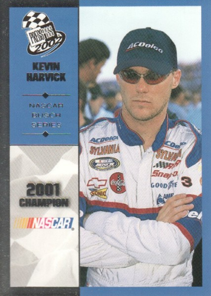 2002 Press Pass #98 Kevin Harvick BGN Champ