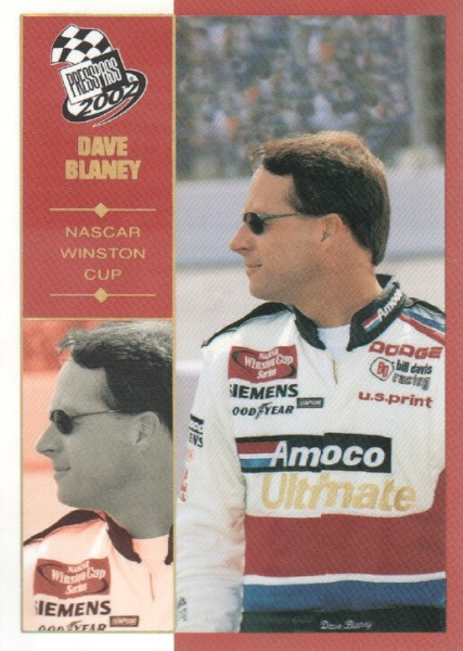 2002 Press Pass Platinum #2 Dave Blaney