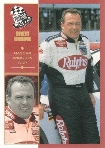 2002 Press Pass Platinum #3 Brett Bodine