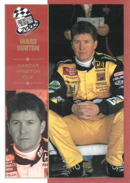 2002 Press Pass Platinum #5 Ward Burton