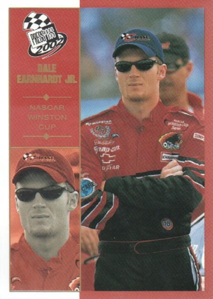 2002 Press Pass Platinum #10 Dale Earnhardt Jr.