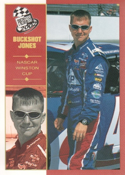 2002 Press Pass Platinum #16 Buckshot Jones