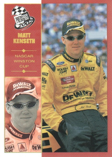 2002 Press Pass Platinum #17 Matt Kenseth