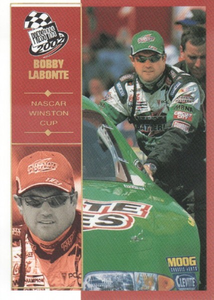 2002 Press Pass Platinum #18 Bobby Labonte