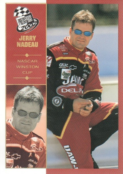 2002 Press Pass Platinum #24 Jerry Nadeau