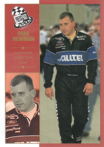 2002 Press Pass Platinum #26 Ryan Newman