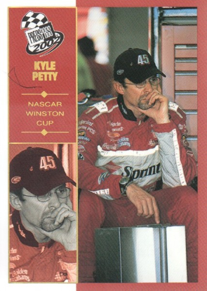 2002 Press Pass Platinum #28 Kyle Petty