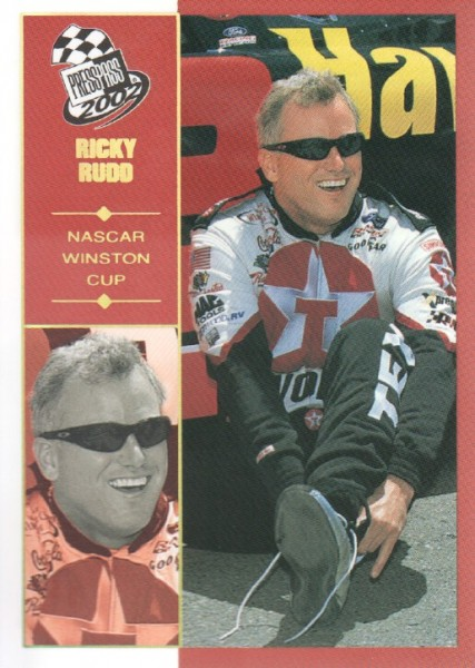 2002 Press Pass Platinum #29 Ricky Rudd