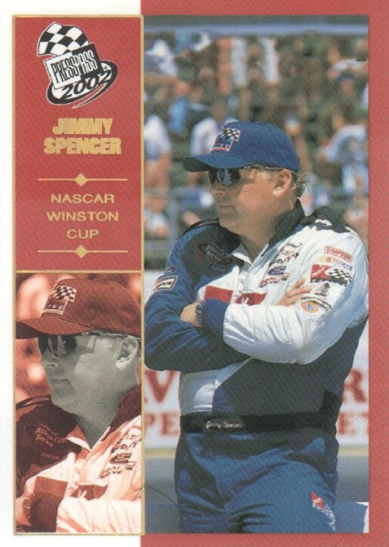 2002 Press Pass Platinum #33 Jimmy Spencer