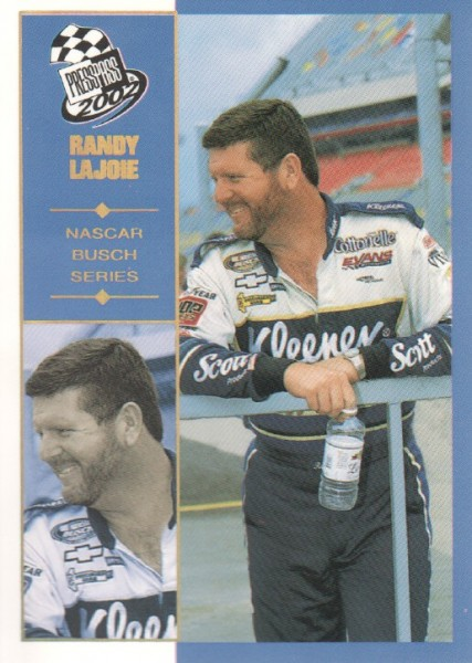 2002 Press Pass Platinum #46 Randy LaJoie NBS