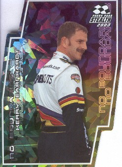2003 Press Pass Stealth No Boundaries #NB2 Kerry Earnhardt