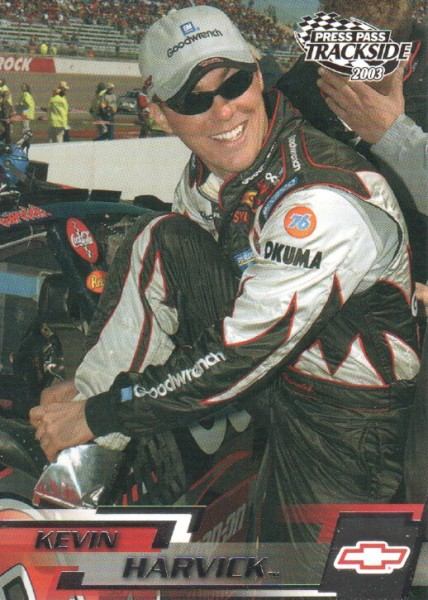 2003 Press Pass Trackside #23 Kevin Harvick