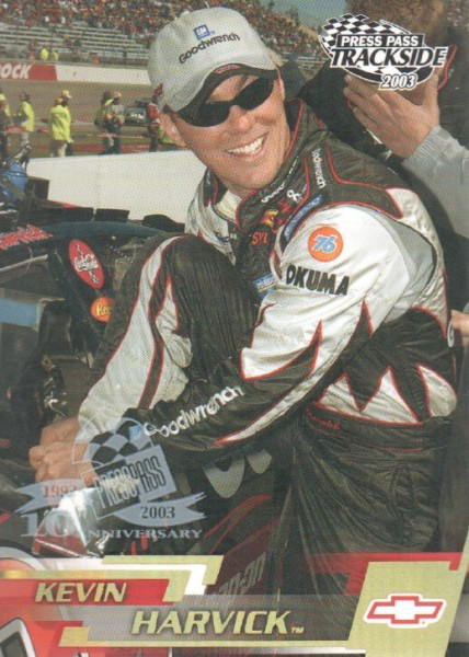 2003 Press Pass Trackside Gold Holofoil #P23 Kevin Harvick