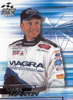 2003 Press Pass Stealth #7 Mark Martin