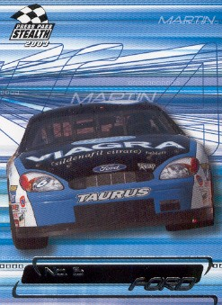 2003 Press Pass Stealth #8 Mark Martin's Car