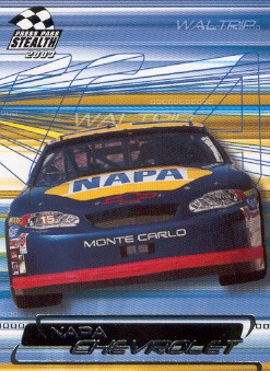 2003 Press Pass Stealth #14 Michael Waltrip's Car