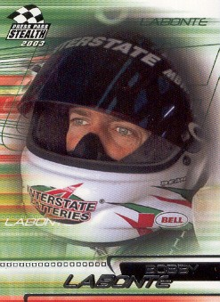 2003 Press Pass Stealth #21 Bobby Labonte