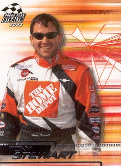 2003 Press Pass Stealth #22 Tony Stewart