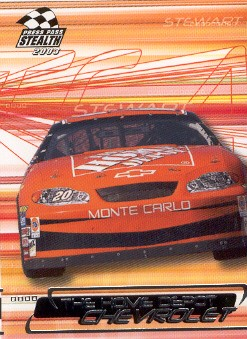 2003 Press Pass Stealth #23 Tony Stewart's Car