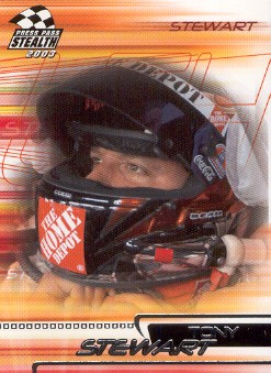2003 Press Pass Stealth #24 Tony Stewart