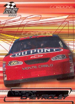 2003 Press Pass Stealth #32 Jeff Gordon's Car