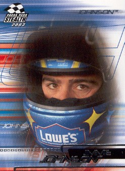 2003 Press Pass Stealth #36 Jimmie Johnson
