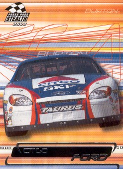 2003 Press Pass Stealth #44 Jeff Burton's Car