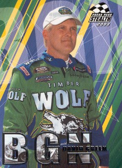 2003 Press Pass Stealth #47 David Green BGN