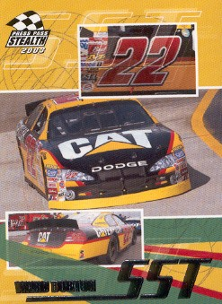 2003 Press Pass Stealth #61 Ward Burton SST