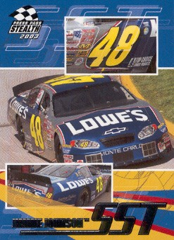 2003 Press Pass Stealth #63 Jimmie Johnson SST