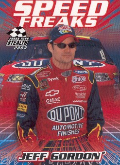 2003 Press Pass Stealth #64 Jeff Gordon SF