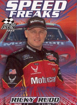 2003 Press Pass Stealth #65 Ricky Rudd SF