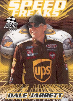 2003 Press Pass Stealth #66 Dale Jarrett SF