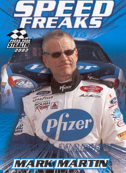 2003 Press Pass Stealth #69 Mark Martin SF