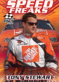 2003 Press Pass Stealth #70 Tony Stewart SF
