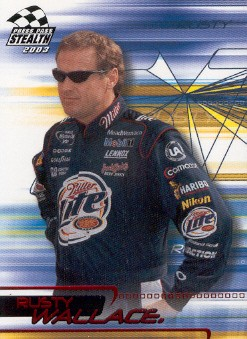 2003 Press Pass Stealth Red #P1 Rusty Wallace