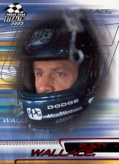 2003 Press Pass Stealth Red #P3 Rusty Wallace